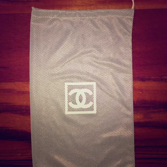 CHANEL Accessories - Chanel accessory drawstring dust bag